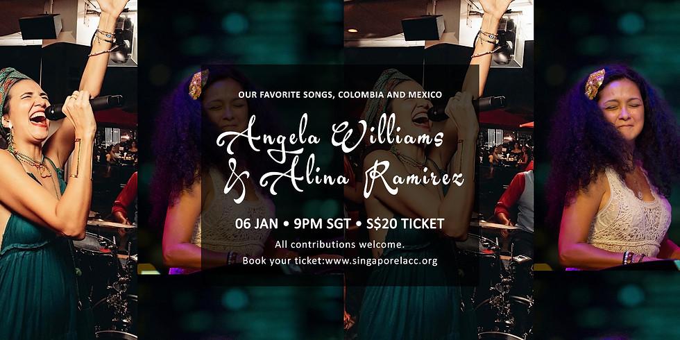 Angela Williams & Alina Ramirez