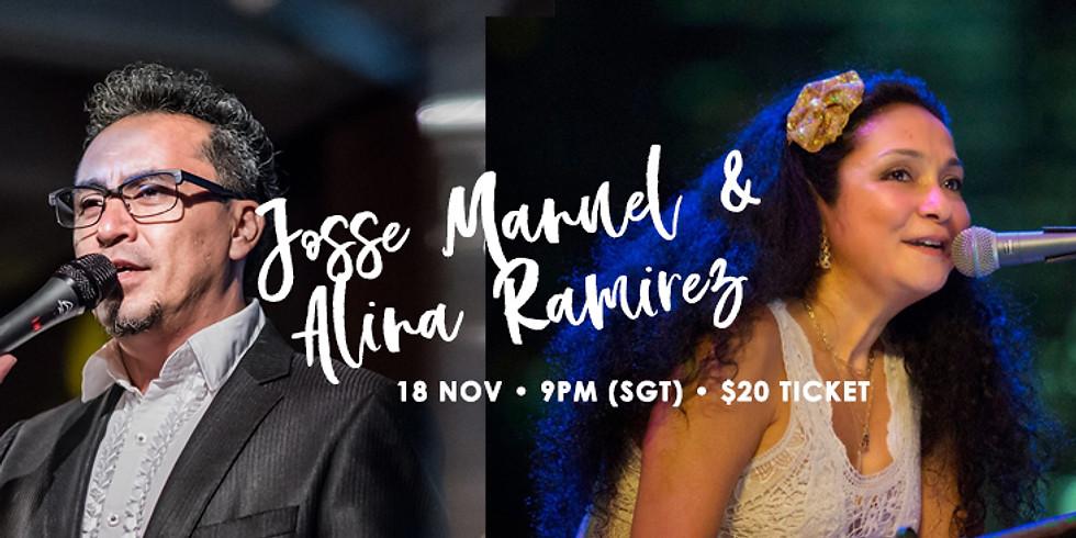 Josse Manuel  & Alina Ramirez 18 Nov