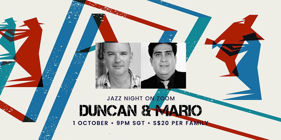Duncan & Mario's Jazz Night