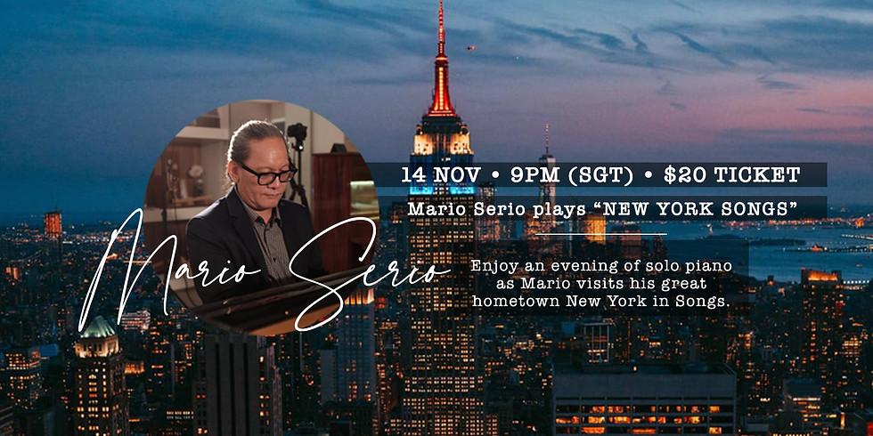 """Mario Serio plays """"New York Songs"""""""
