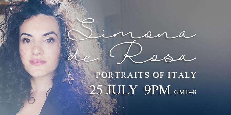 "Simona de Rosa ""Portraits of Italy"""
