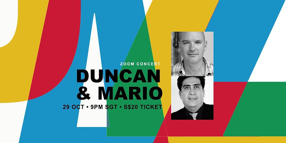 Duncan & Mario 29 Oct