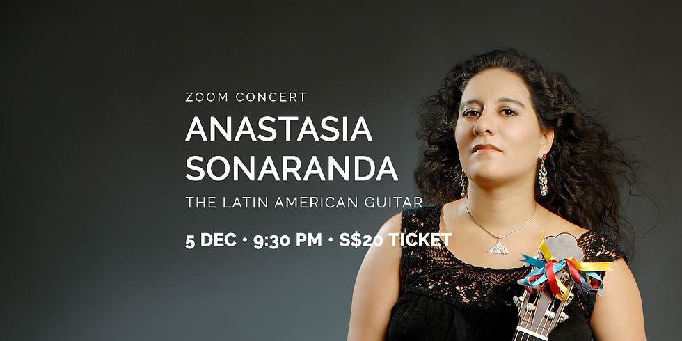 "Anastasia Sonaranda's ""The Latin American Guitar"" 05 Dec"