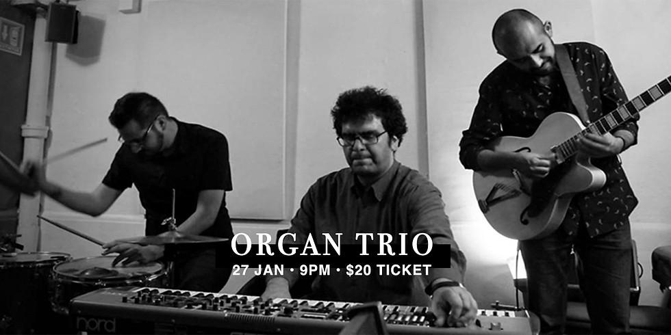 Organ Trio 27 Jan