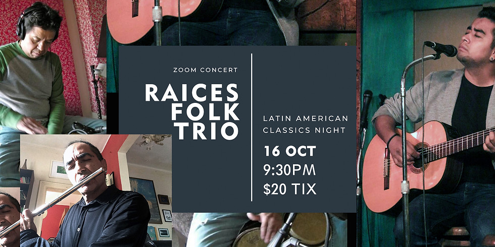 Raices Folk Trio's Latin American Concert