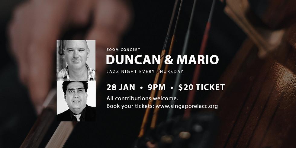 Duncan & Mario 28 Jan