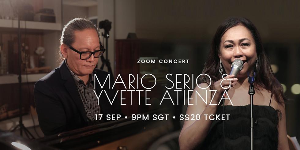 Mario Serio & Yvette Atienza Jazz Night