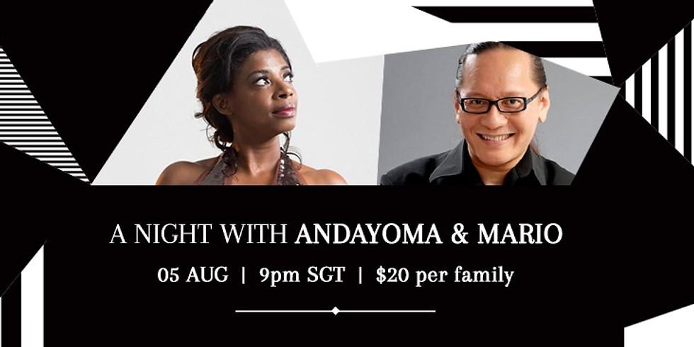 A Night with Andayoma & Mario Serio