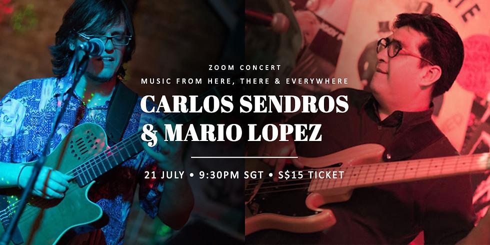 Mario Lopez & Carlos Sendros 21 July