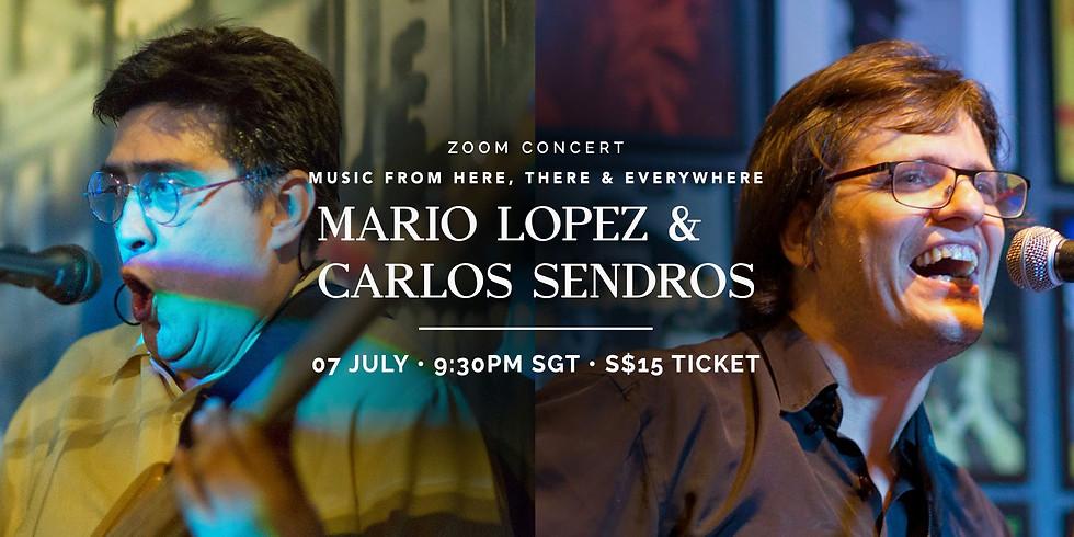 Mario Lopez & Carlos Sendros 07 July