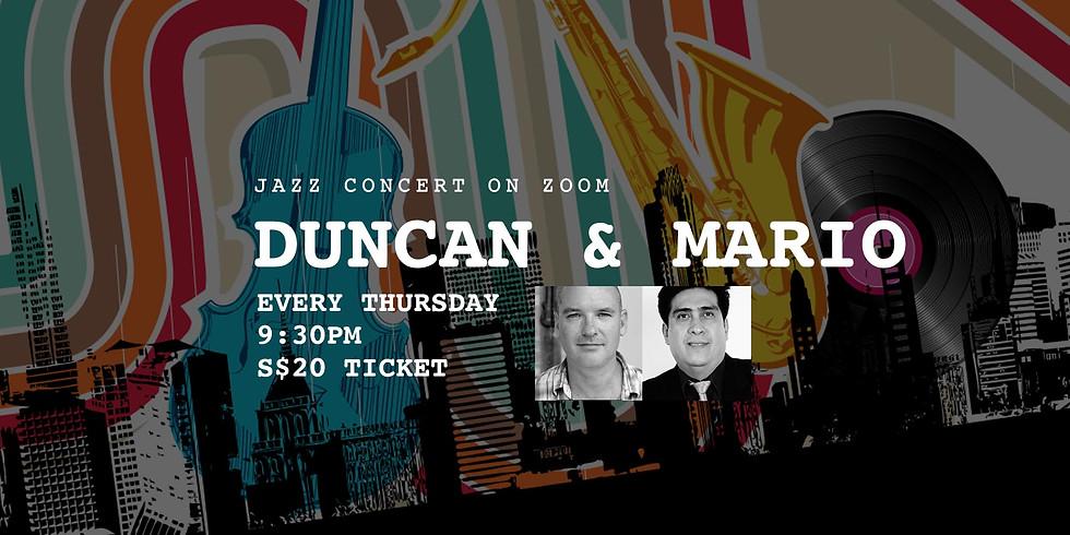 Duncan & Mario 18 Mar