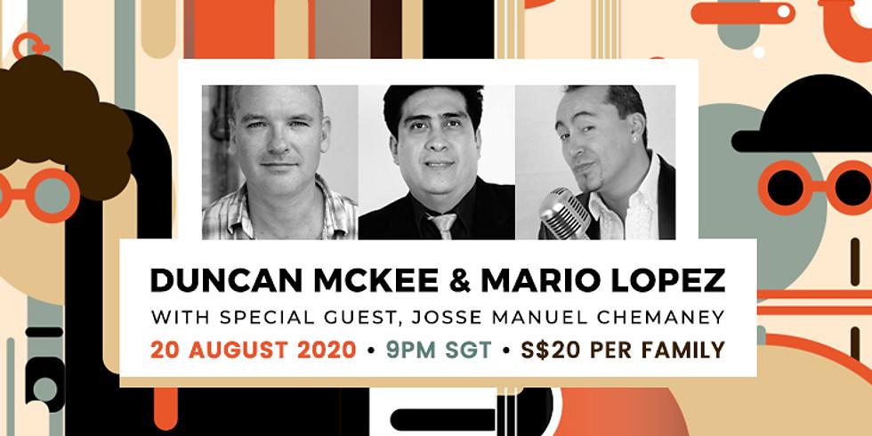 Duncan Mc Kee, Mario Lopez Feat, Josse Manuel