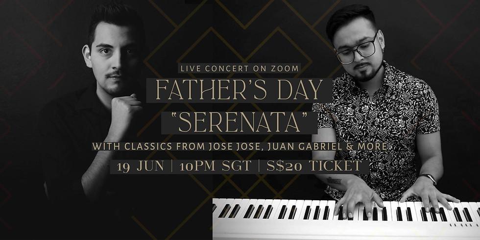 """Father's Day """"Serenata"""" 19 June"""
