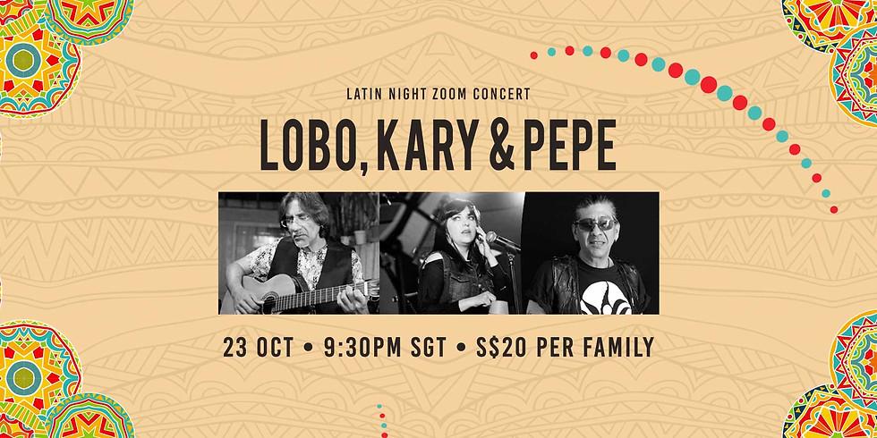 Kary & Lobo Latin Night