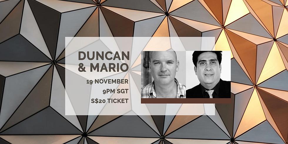 Duncan & Mario 19 Nov
