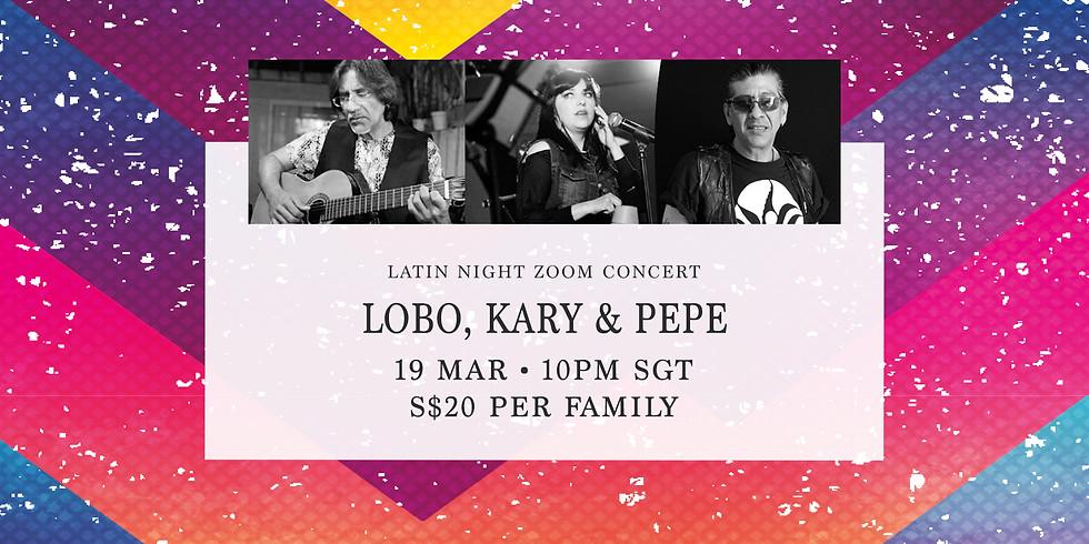 Lobo, Kary & Pepe 19 Mar