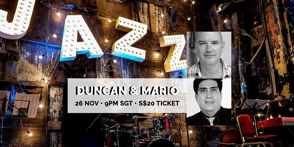 Duncan & Mario 26 Nov