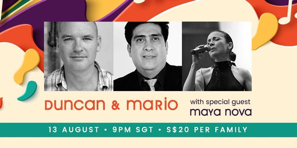 Duncan & Mario Jazz Night Feat Maya Nova