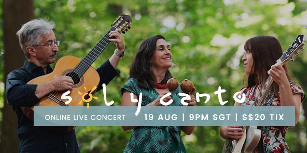 Sol y Canto Online Concert
