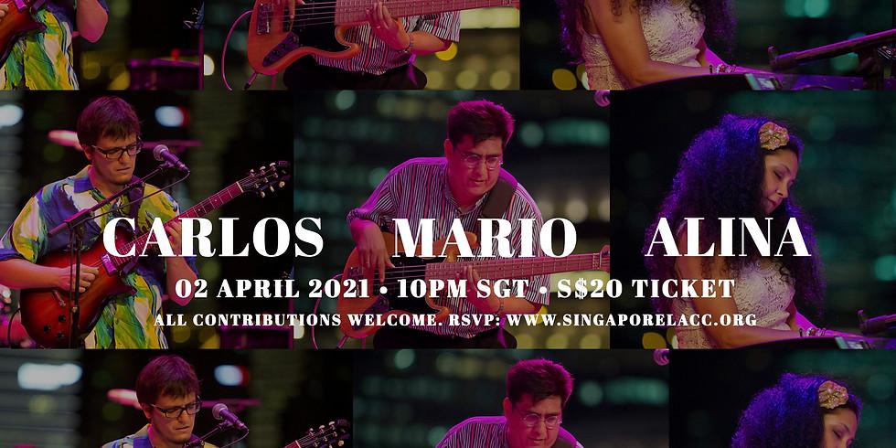 Carlos, Mario & Alina 02 Apr