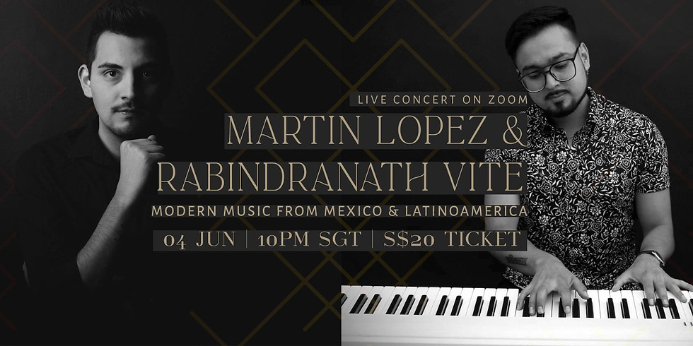 Rabindranath & Martin 04 June