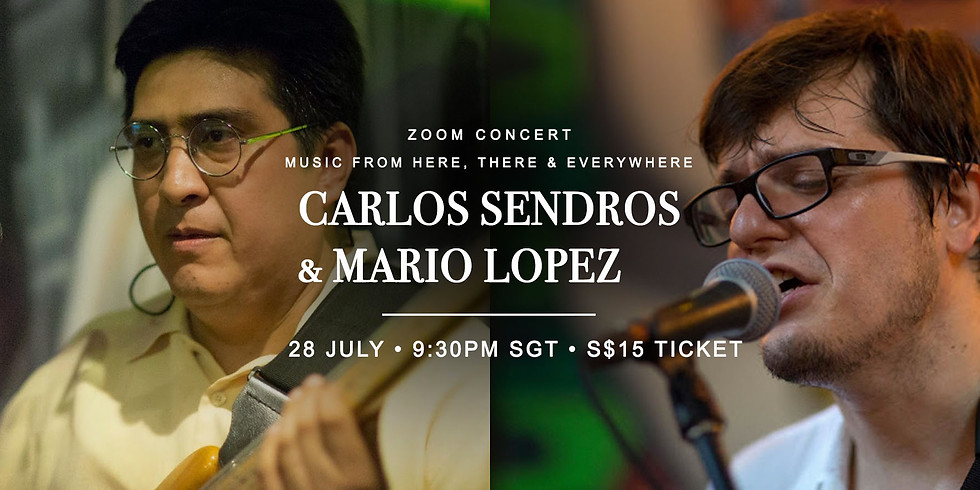 Mario Lopez & Carlos Sendros 28 July