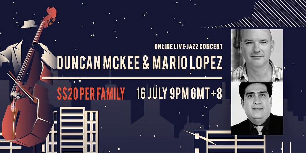 DUNCAN MCKEE & MARIO LOPEZ CONCERT