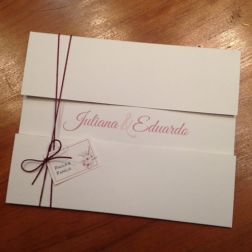 Convite - Juliana e Eduardo