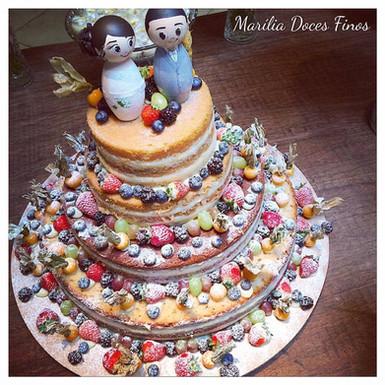 Naked Cake Silvana e Felipe
