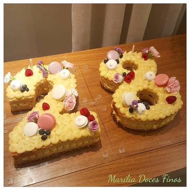 Number cake 28