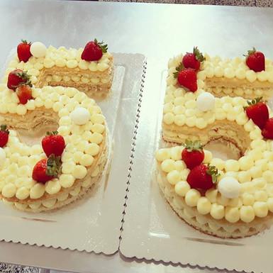 Number Cake 55