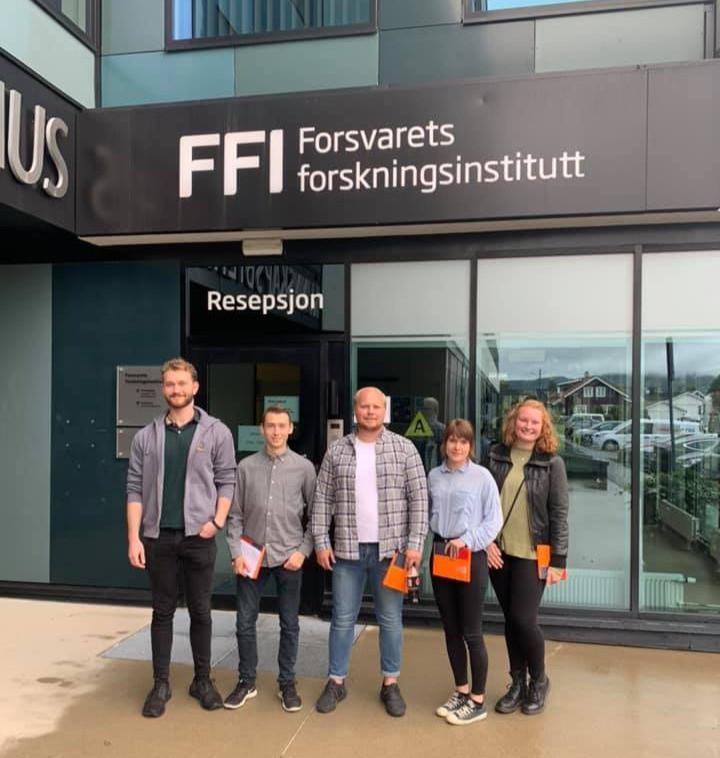 Besøk Hos FFI - Forsvarets forskingsinstitutt