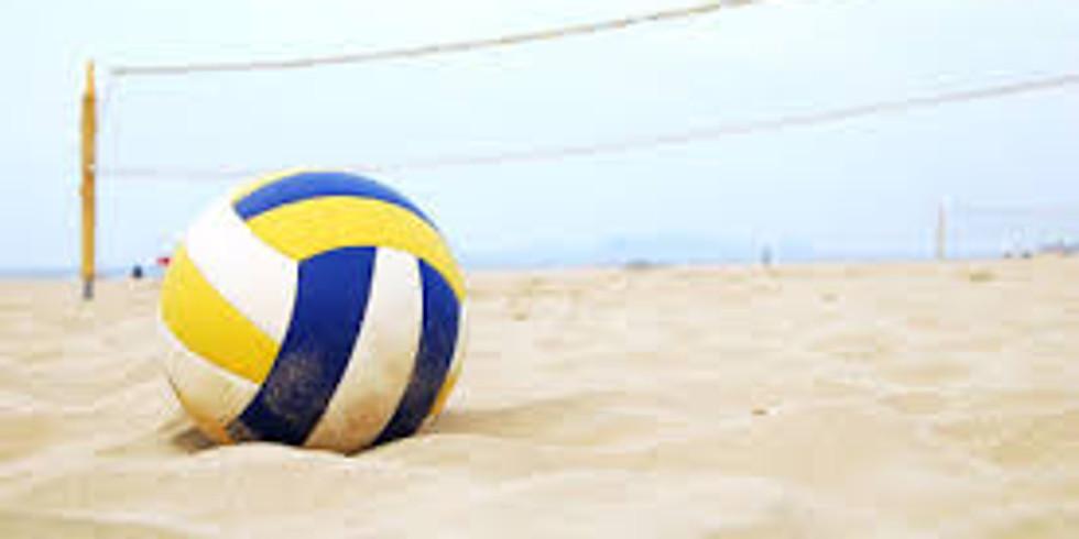 Grilling og volleyball med Tannhjulet