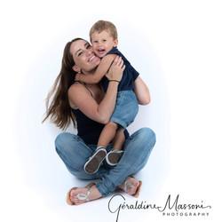 Baptiste et sa maman