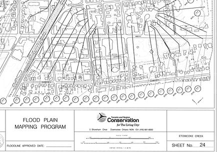 Etobicoke Creek Sheet 24 - Regional Floo
