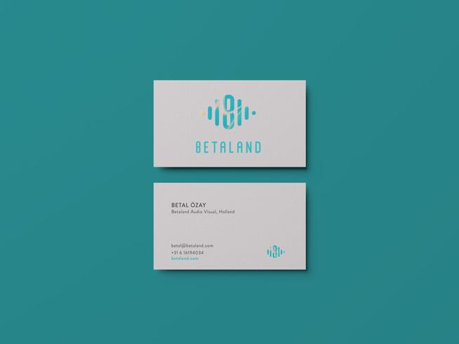 Betaland Brand identity