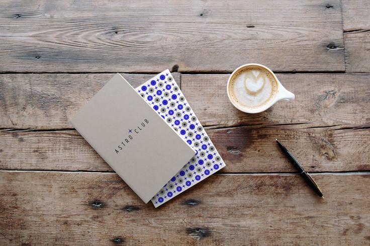 Astroclub /  Notebook Design