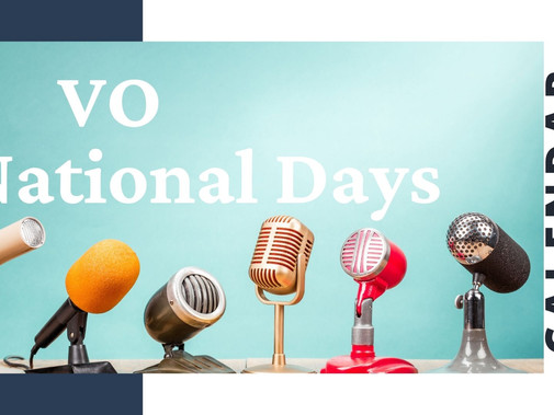 National Voice Actor Day is a Thing