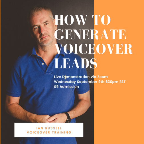 How to Generate Voiceover Leads