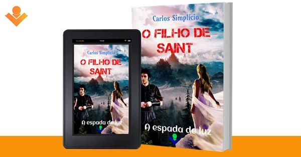 Livro Carlos Simplício Ficção Fantasia Medieval Filho de Saint
