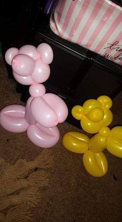 Teddy Beat Balloon