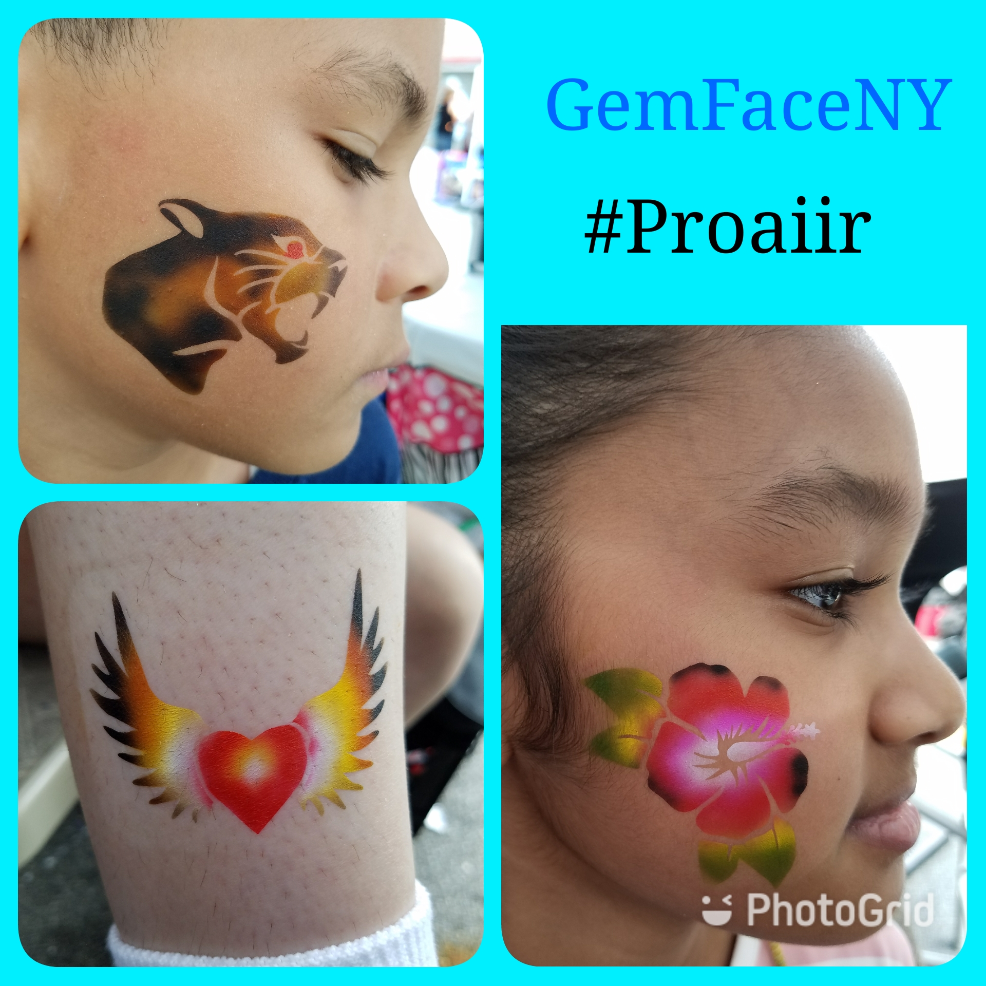 Airbrush Face designs