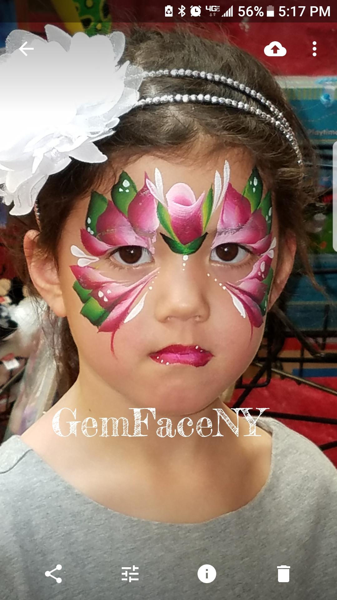 Flower FacePaint