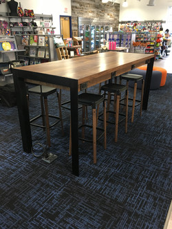 Community Table w/Charging Stations