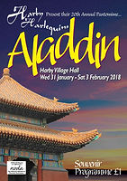 2018 Aladdin Programme cover
