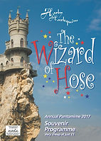 2017 Wizard of Hose Programme cover