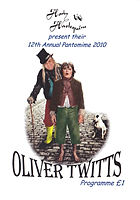 2010 Oliver Twitts Programme cover