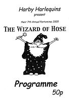 2005 Wizard of Hose Programme cover
