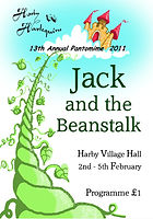 2011 Jack and the Beanstalk Programme cover