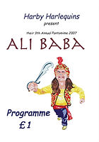 2007 Ali Baba Programme cover